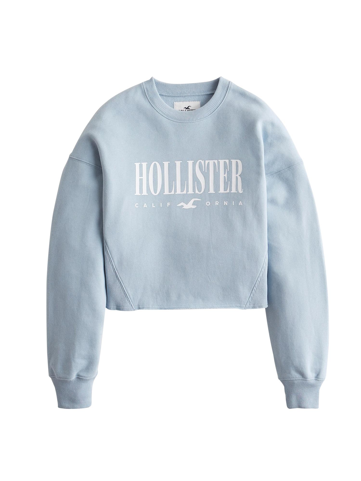 HOLLISTER Megztinis be užsegimo šviesiai mėlyna