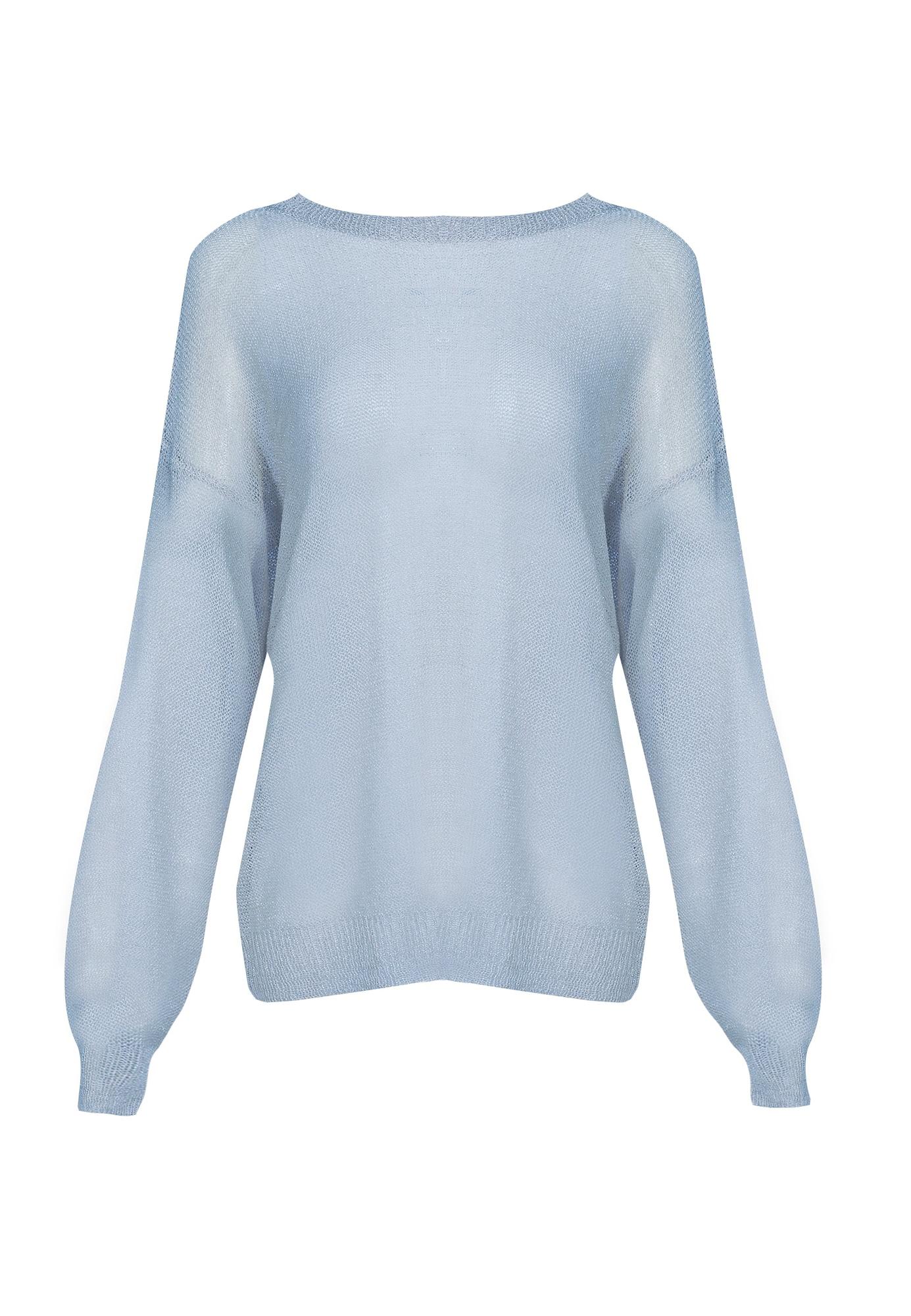 myMo at night Megztinis šviesiai mėlyna