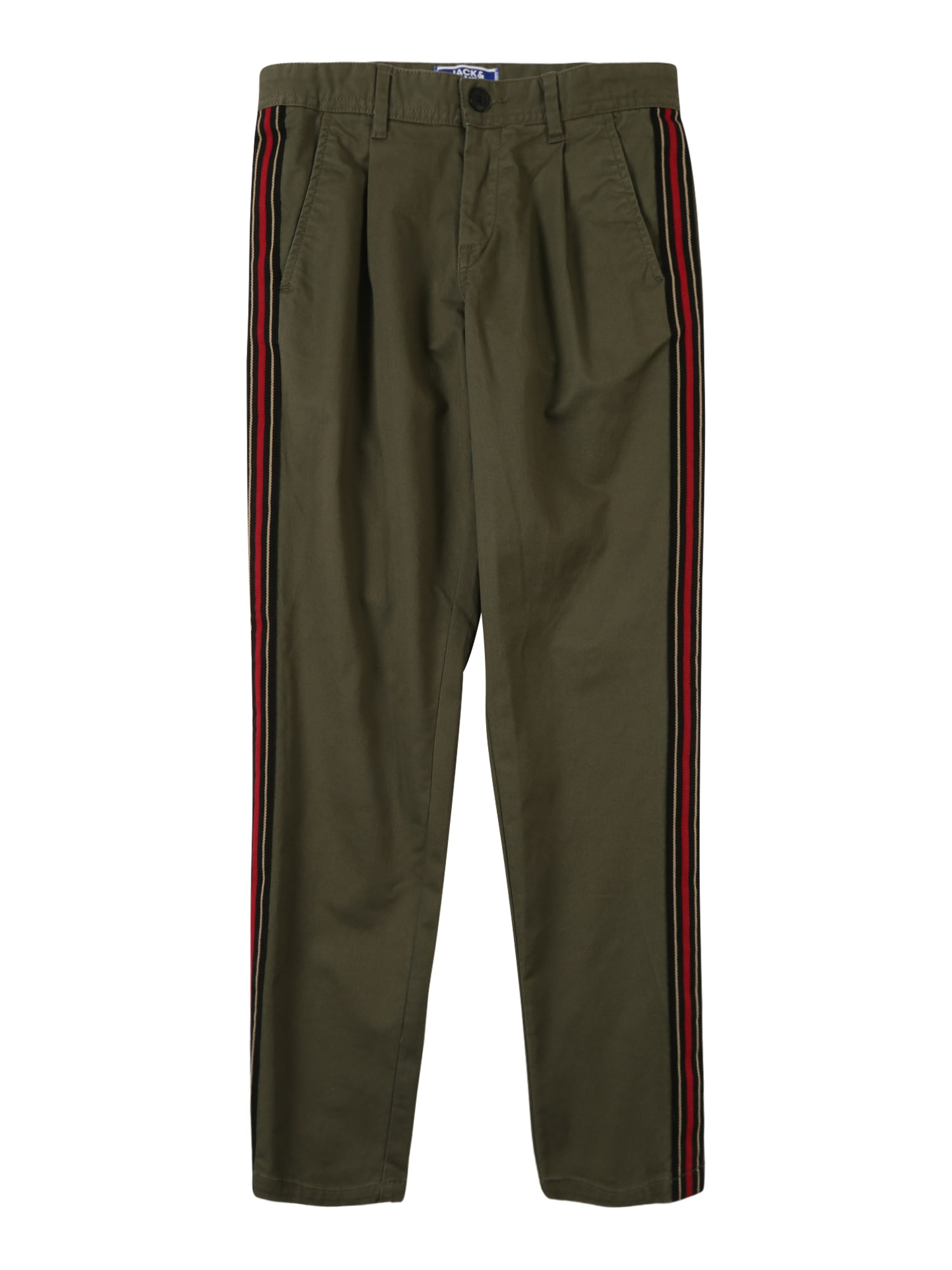 Kalhoty ACE HARPER olivová Jack & Jones Junior