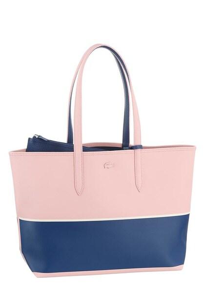 Shopper für Frauen - Shopper 'Anna Fantaisie' › Lacoste › himmelblau altrosa weiß  - Onlineshop ABOUT YOU