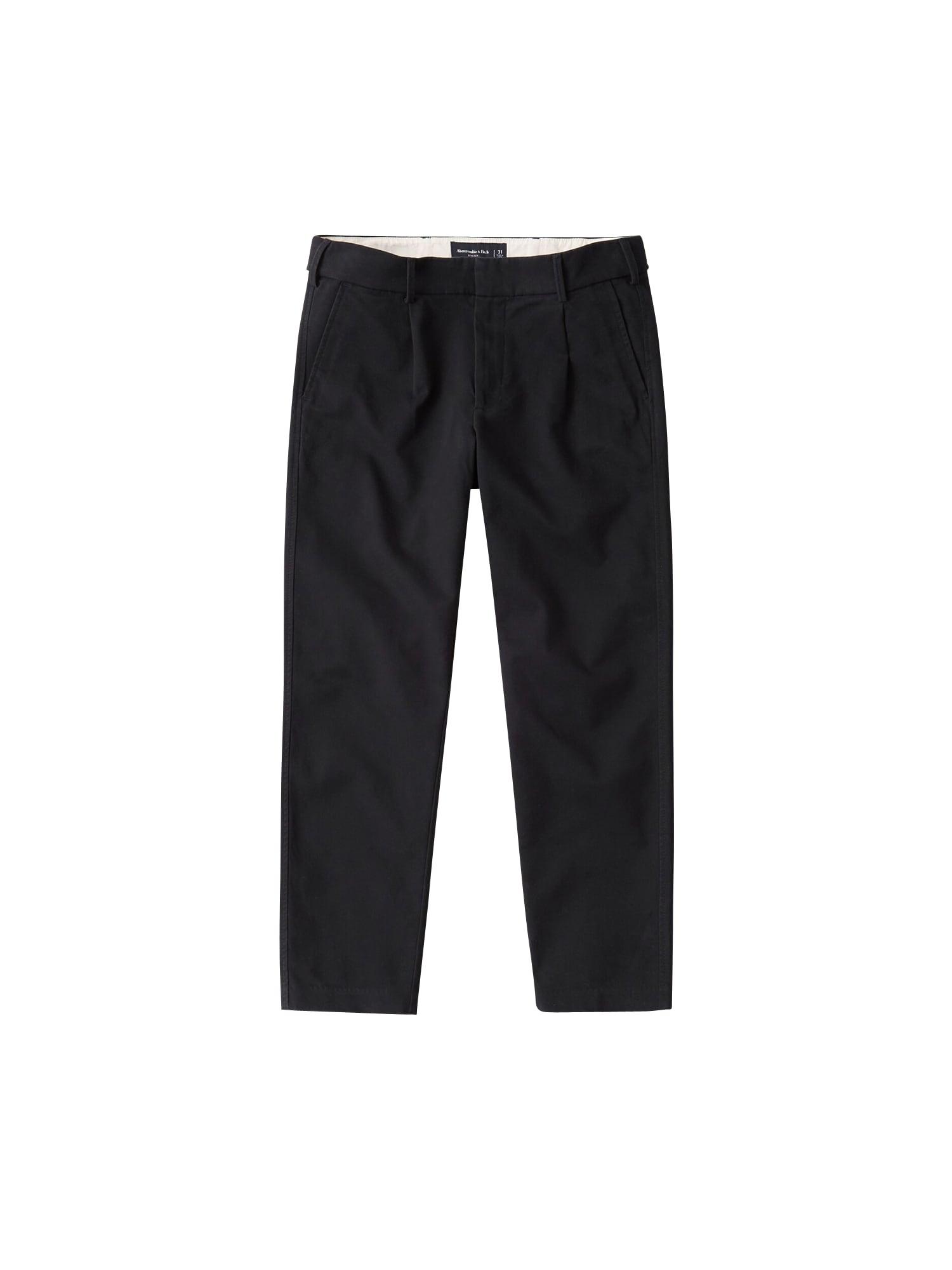Abercrombie & Fitch Klostuotos kelnės juoda