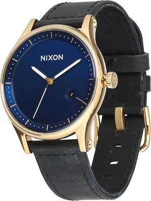 Nixon Armbanduhr 'Station Leather'