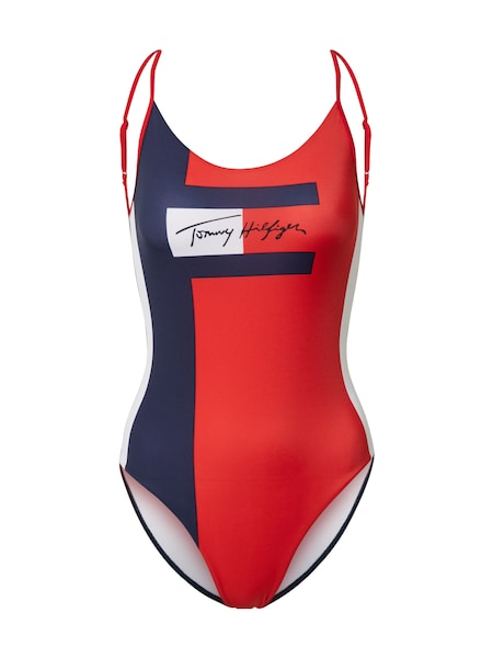 Bademode - Badeanzug › Tommy Hilfiger › blau rot  - Onlineshop ABOUT YOU