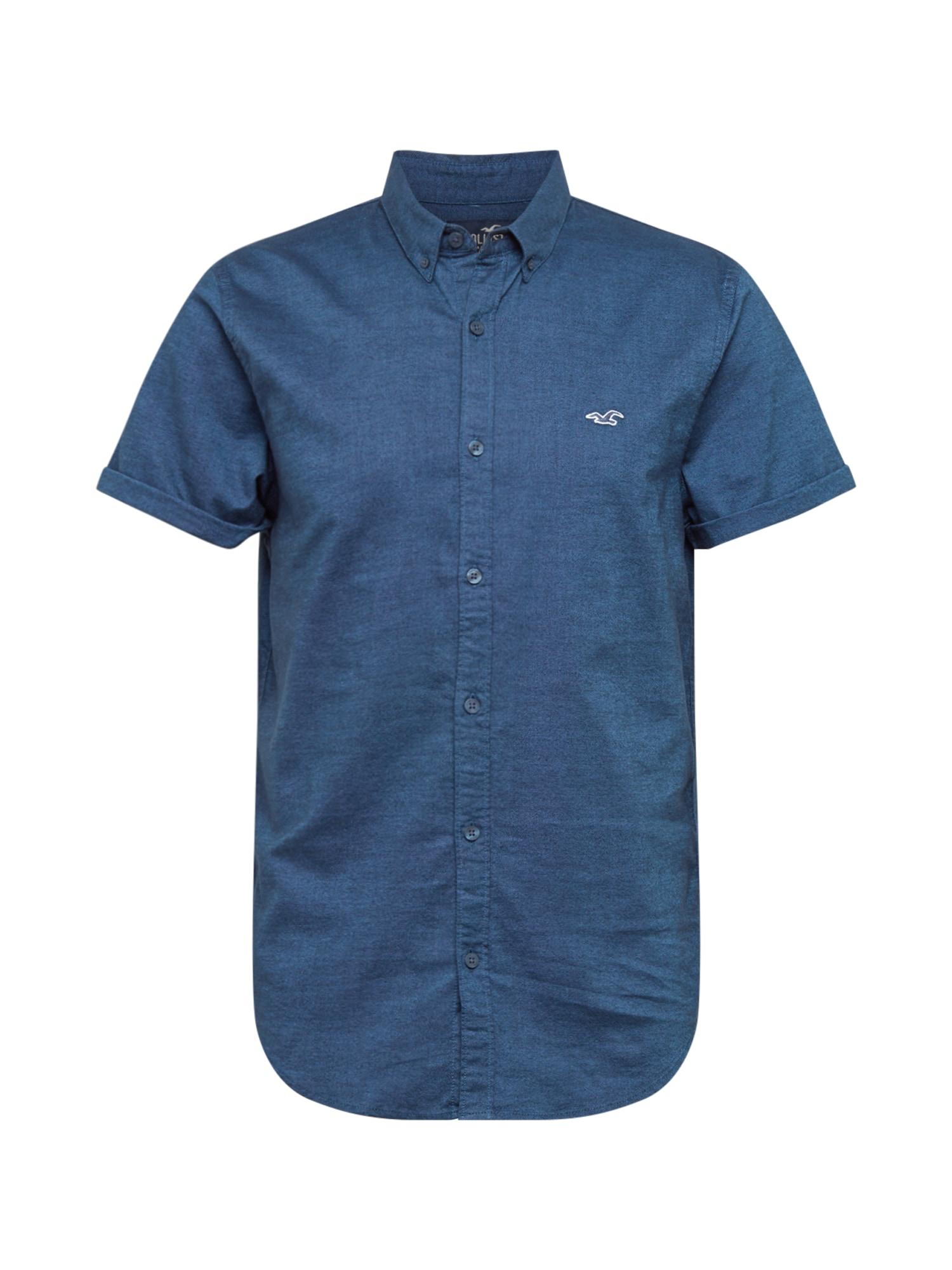 HOLLISTER Marškiniai tamsiai mėlyna