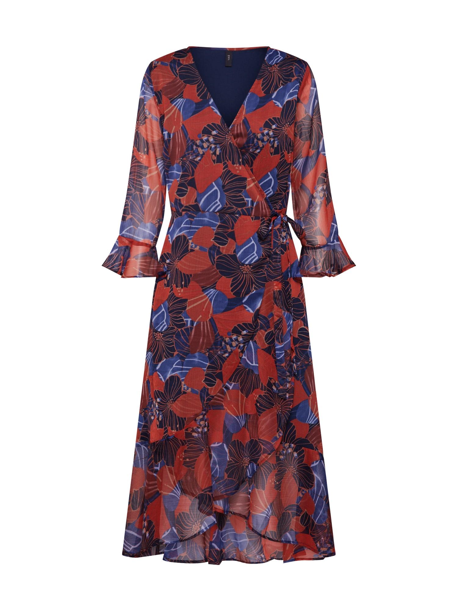 Y.A.S Večerné šaty 'DAPHNE'  vínovo červená