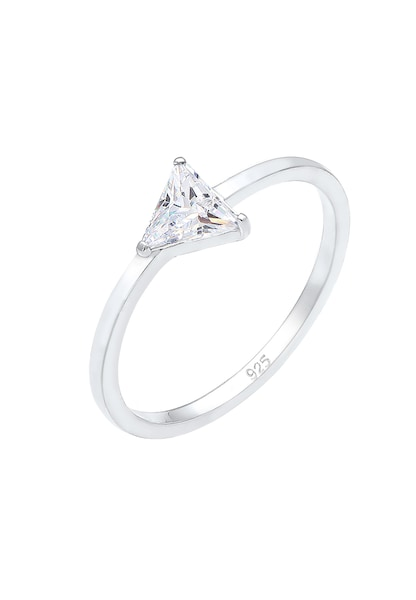 Ringe - Ring 'Kristall' › ELLI › silber  - Onlineshop ABOUT YOU