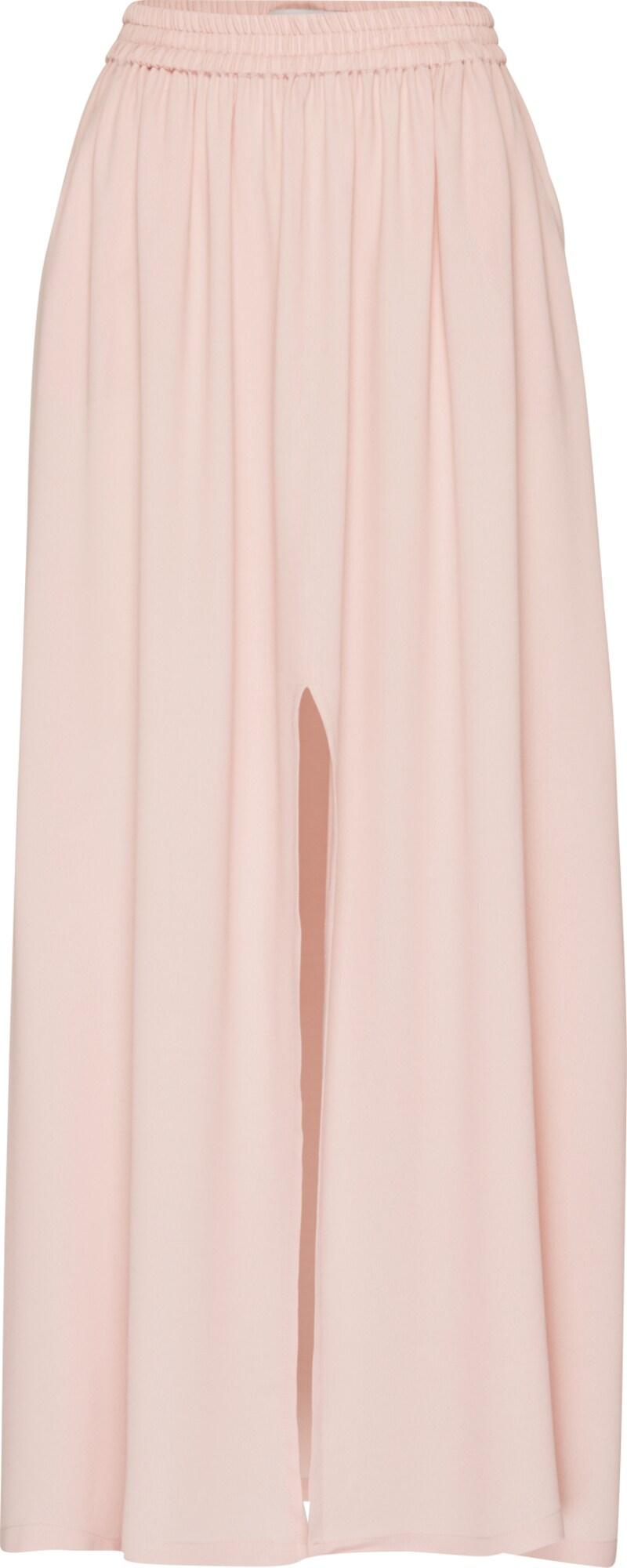minimum maxi rock mit schlitz 39 henna 39 in pink about you. Black Bedroom Furniture Sets. Home Design Ideas