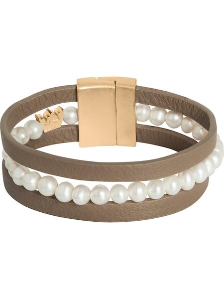 Armbaender für Frauen - Sence Copenhagen Armband gold greige  - Onlineshop ABOUT YOU