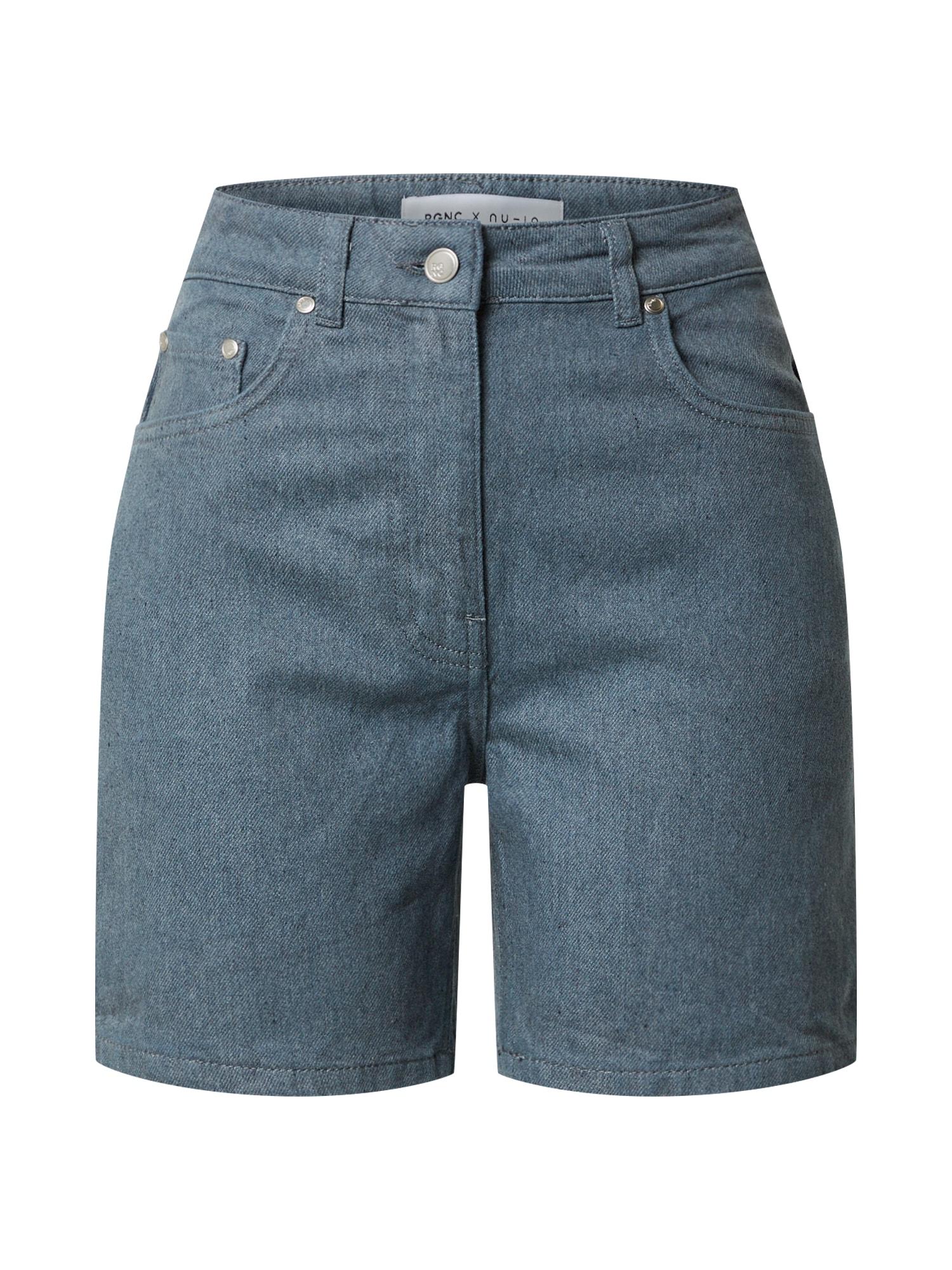NU-IN Džinsai tamsiai (džinso) mėlyna