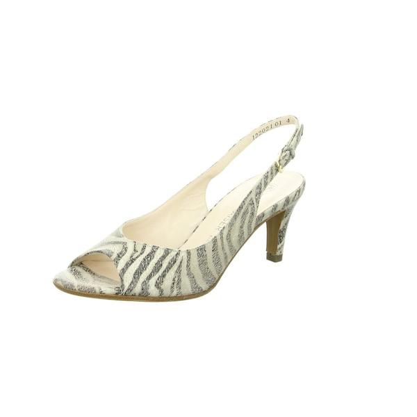 Sandalen für Frauen - PETER KAISER Sandalen beige dunkelgrau  - Onlineshop ABOUT YOU