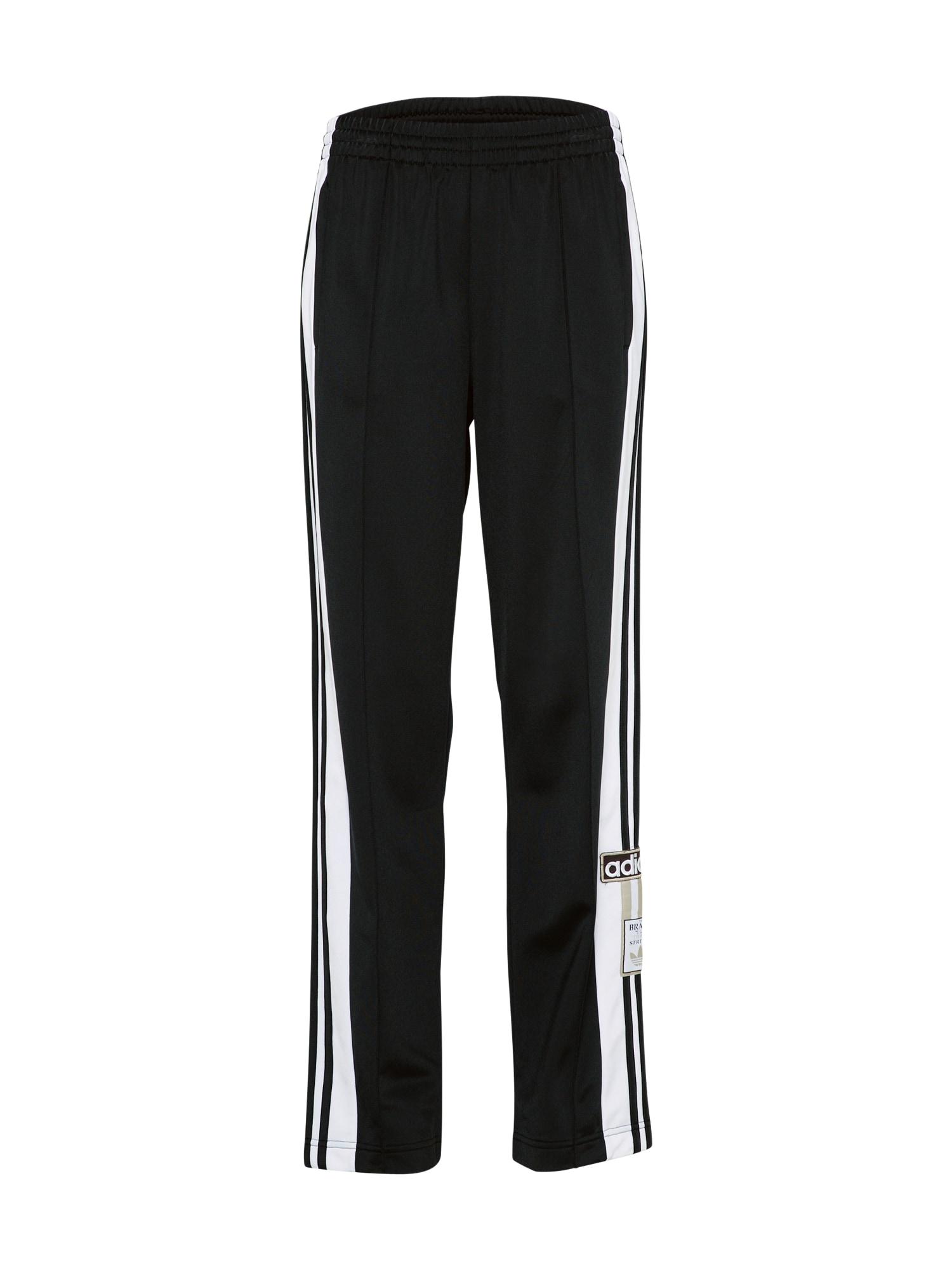 Kalhoty OG Break černá bílá ADIDAS ORIGINALS