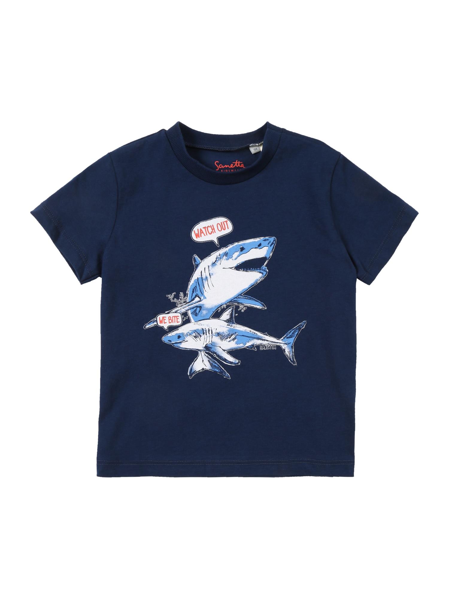 Tričko tmavě modrá Sanetta Kidswear