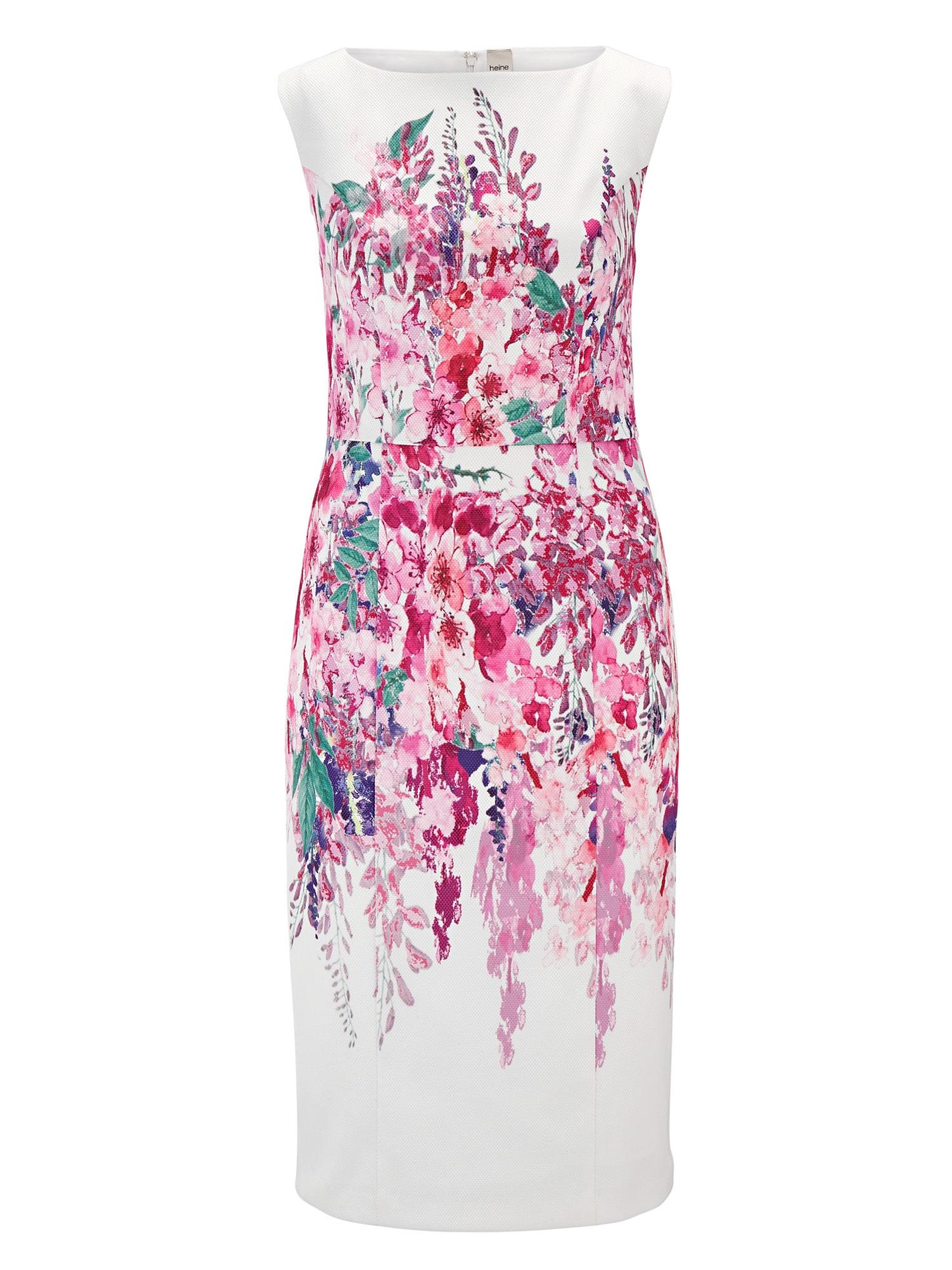 Pouzdrové šaty pink offwhite Heine