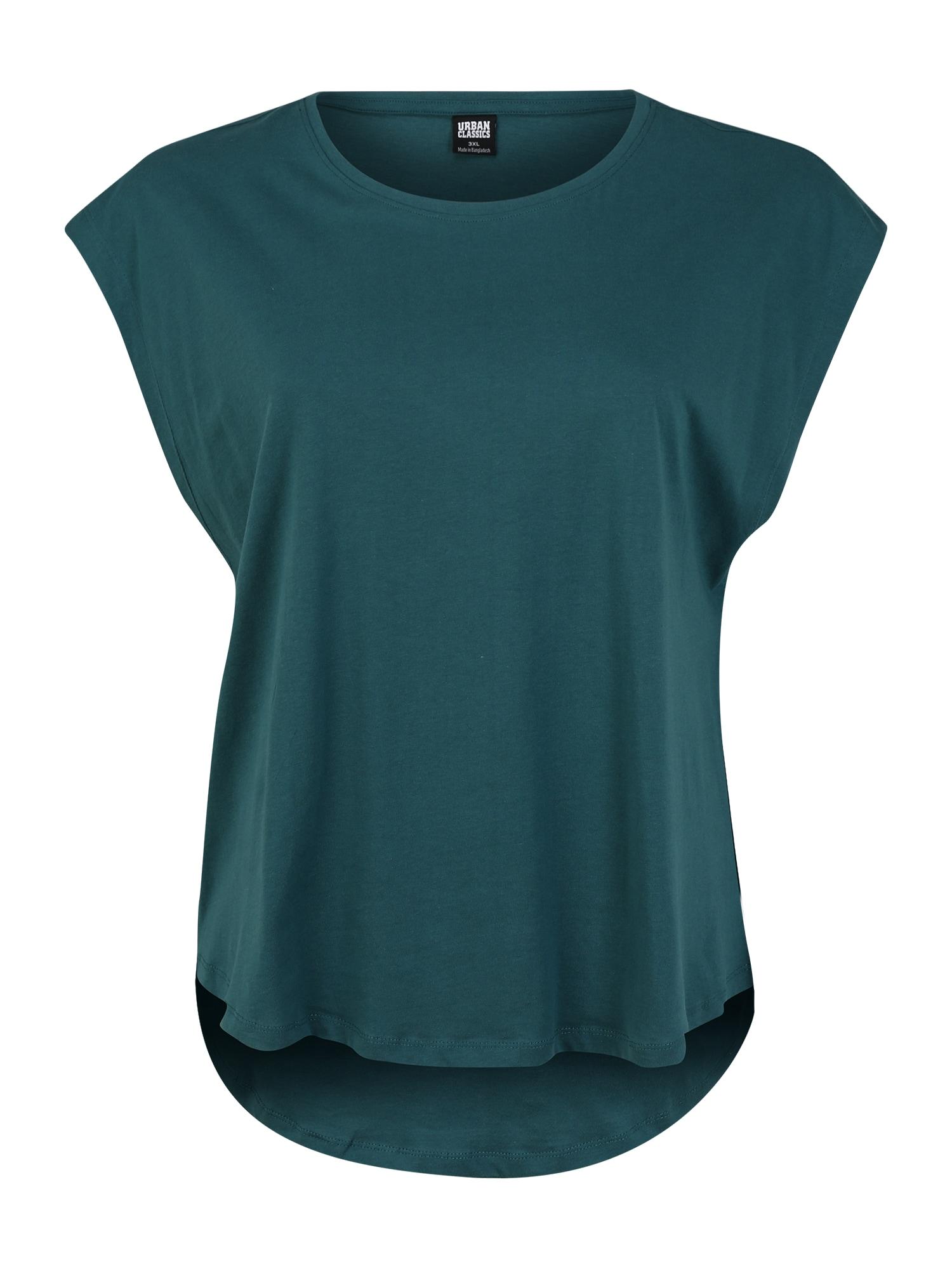 Urban Classics Curvy Marškinėliai benzino spalva