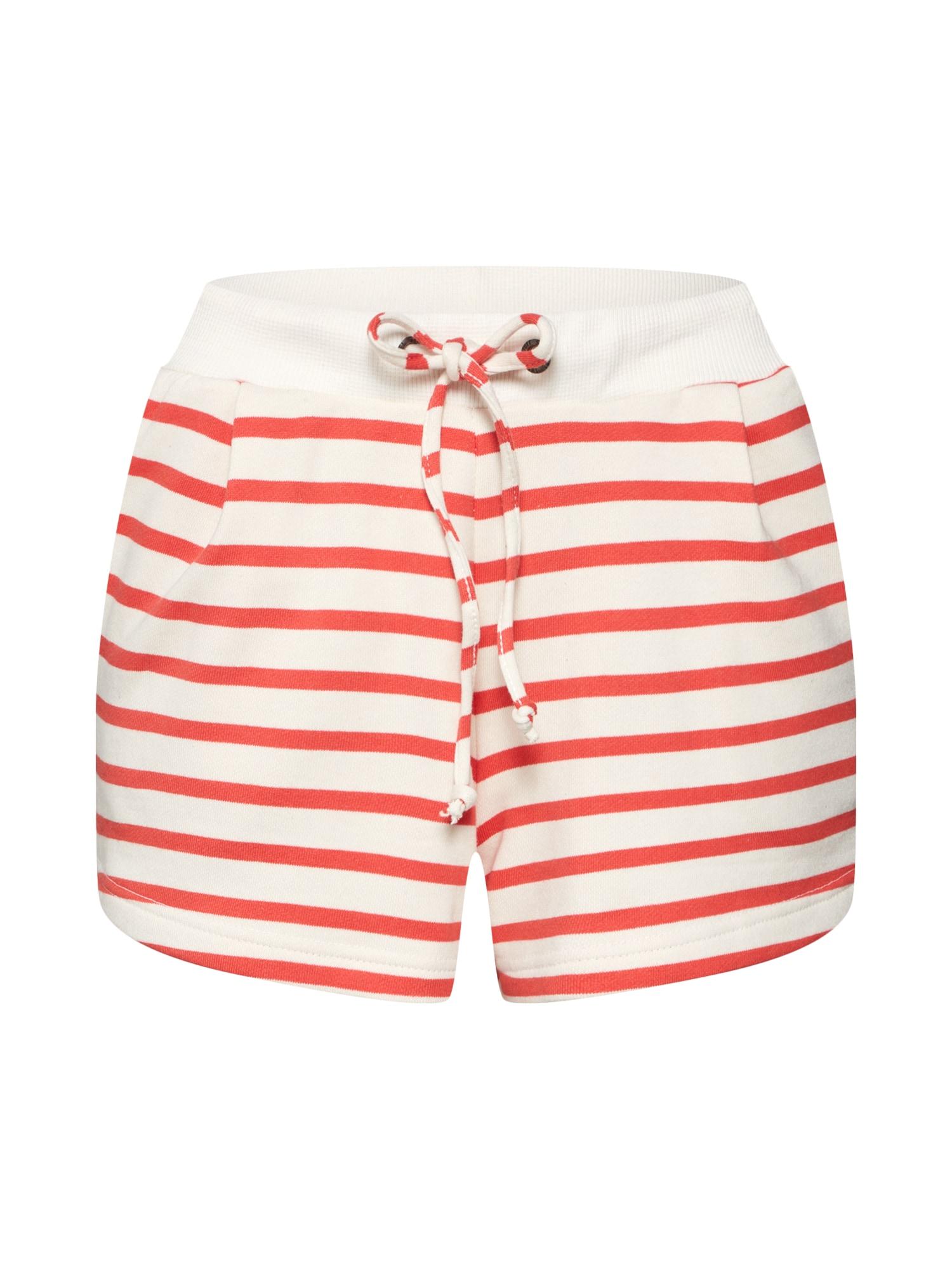 Kalhoty červená bílá Sublevel