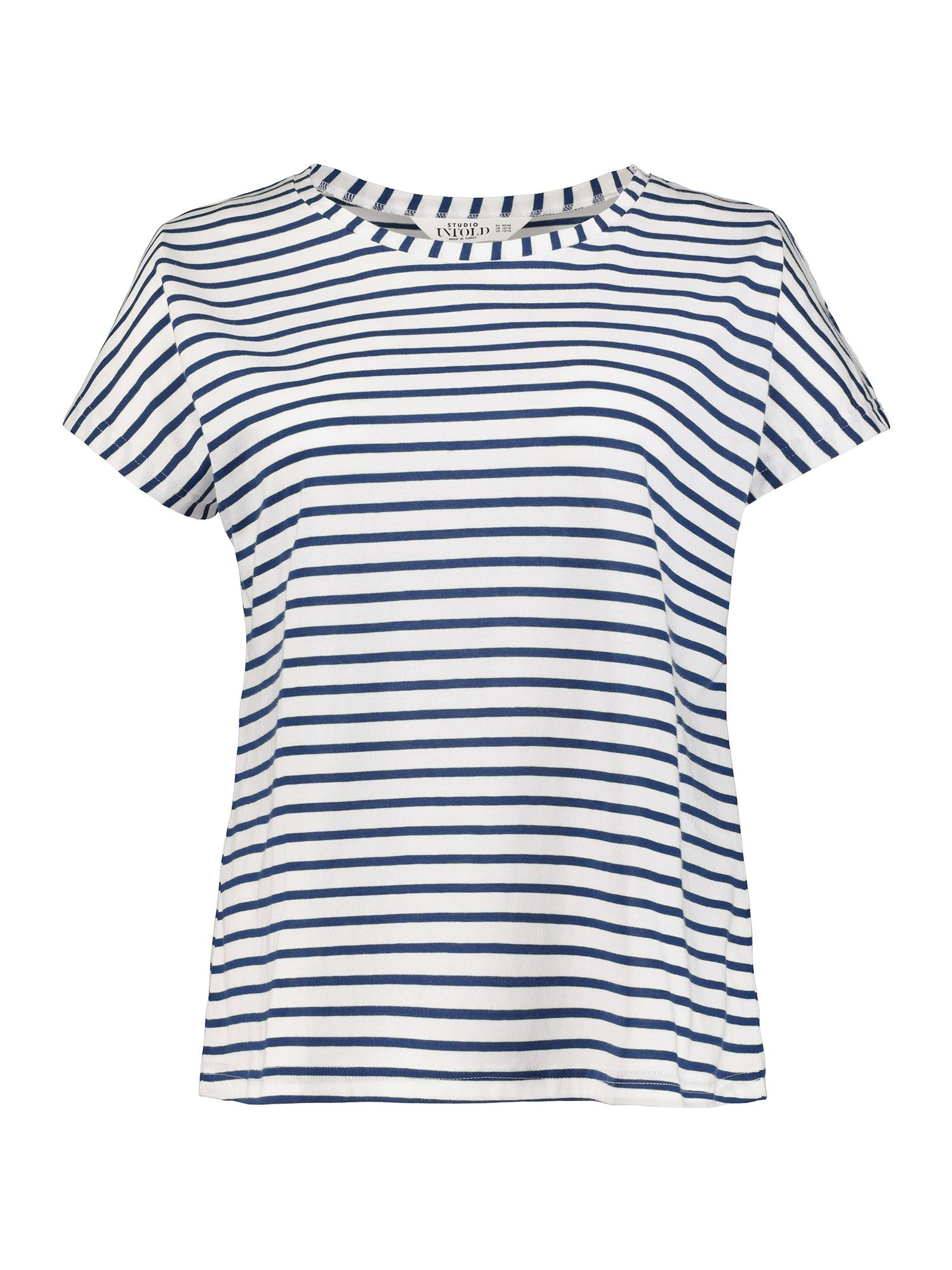 Tričko tmavě modrá bílá Studio Untold