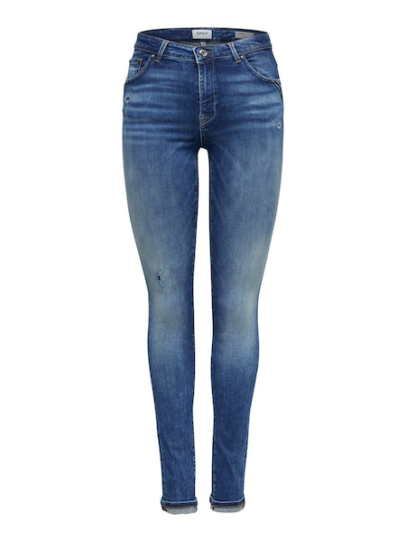 Hosen - Carmen Reg Ankle Skinny Fit Jeans › Only › blau  - Onlineshop ABOUT YOU
