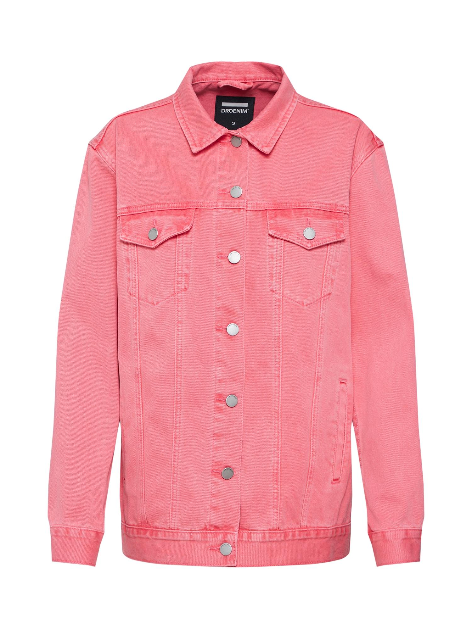 Přechodná bunda River Trucker Jacket pink Dr. Denim