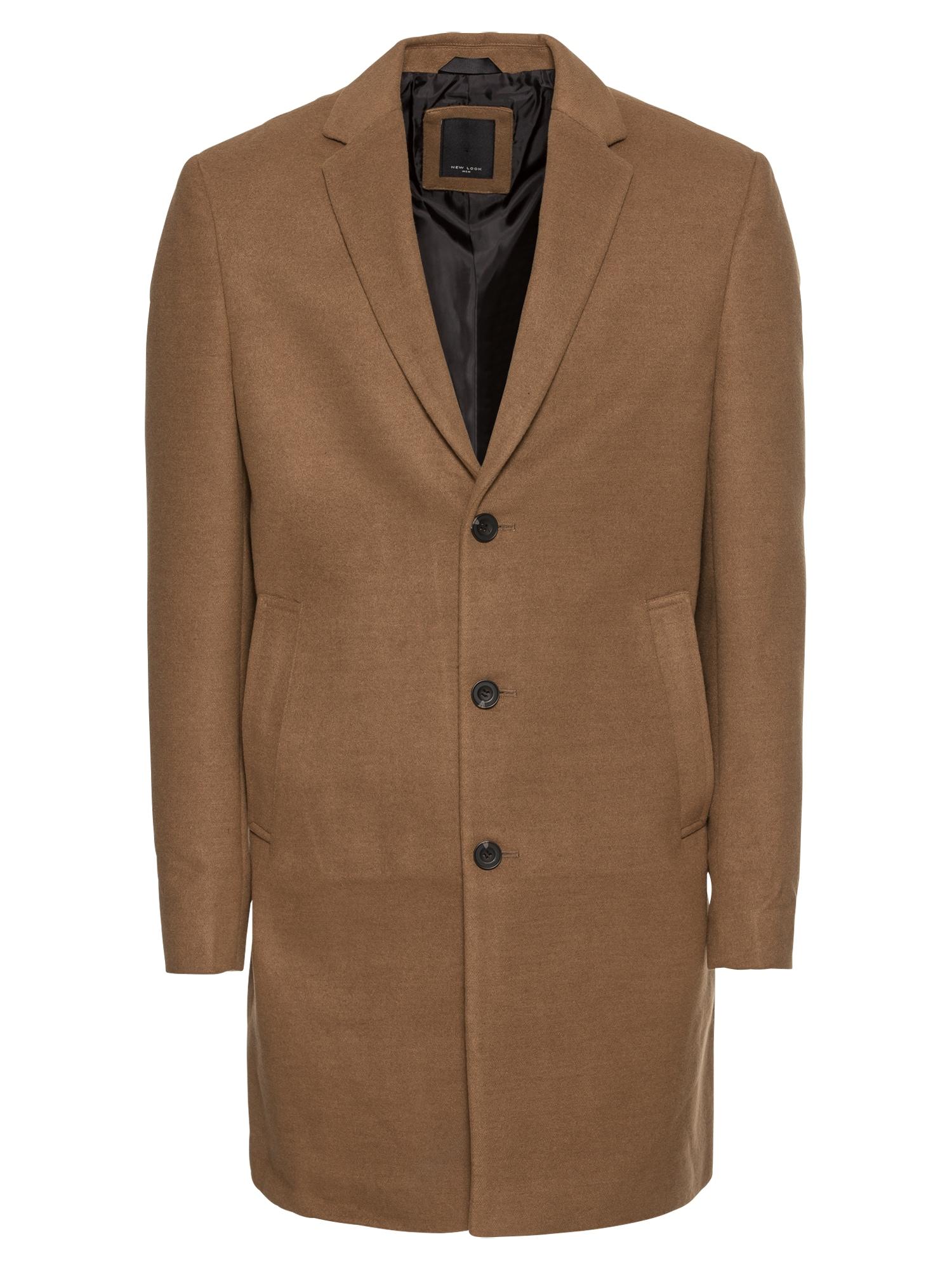 Přechodný kabát velbloudí NEW LOOK