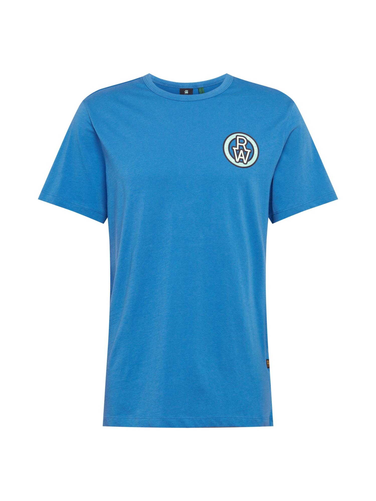 G-Star RAW Tričko  nebesky modrá