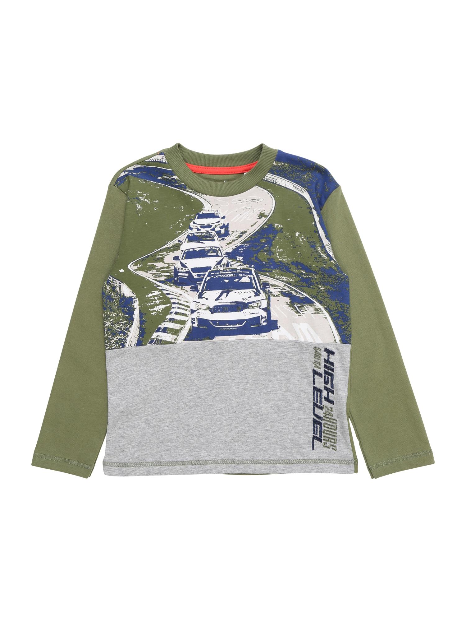 Tričko olivová Sanetta Kidswear