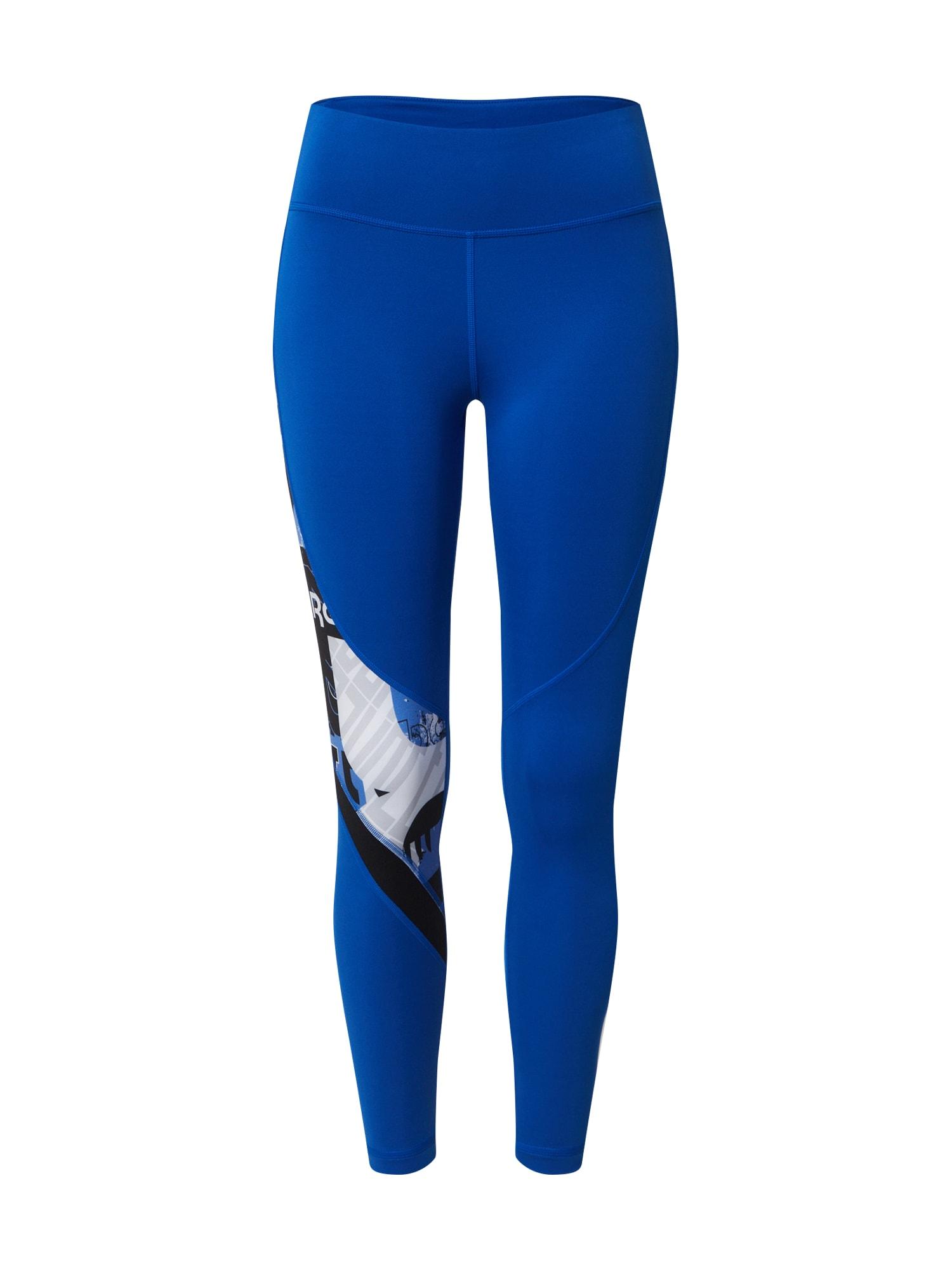 REEBOK Športové nohavice  modré