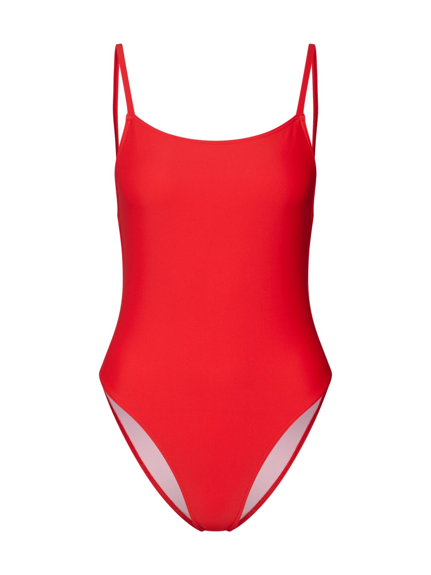 Plavky Paola červená ABOUT YOU X Sarina Nowak