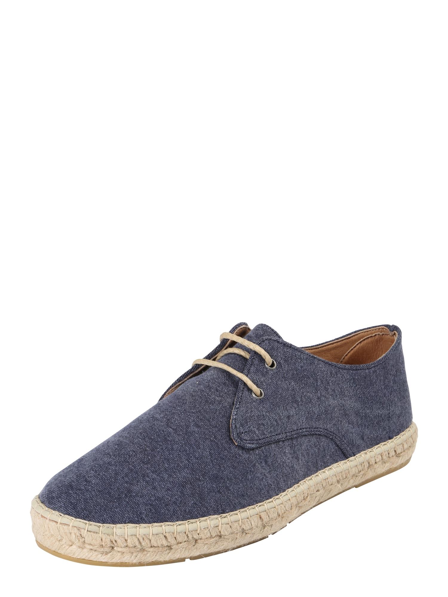 espadrij l´originale Šnurovacie topánky 'Paysan'  námornícka modrá