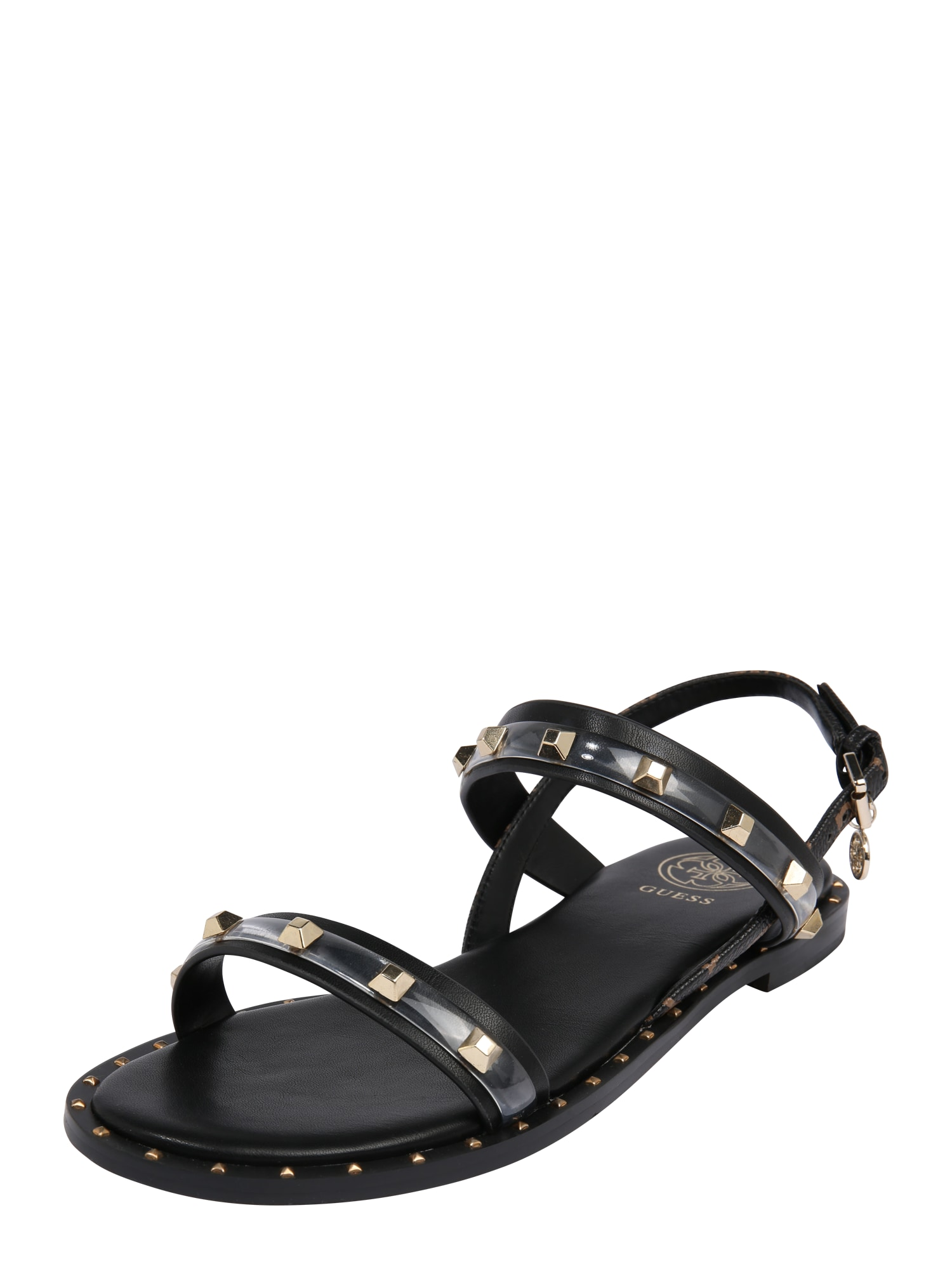 GUESS Remienkové sandále 'OFELIA'  čierna