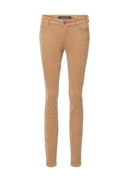 Hosen - Jeans ALBY slim mid waist › Marc O'Polo › camel  - Onlineshop ABOUT YOU