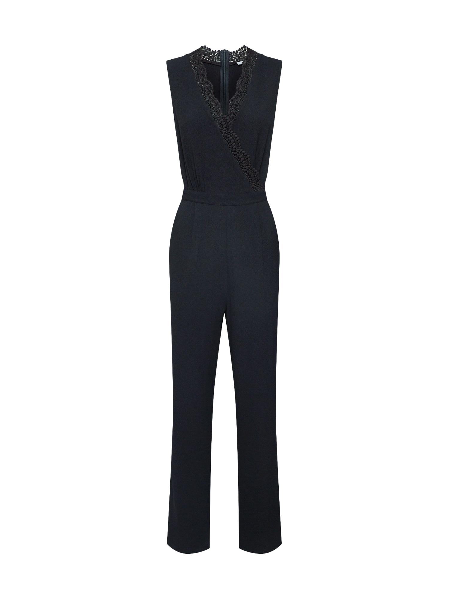ABOUT YOU Kombinezono tipo kostiumas 'Rosina' juoda
