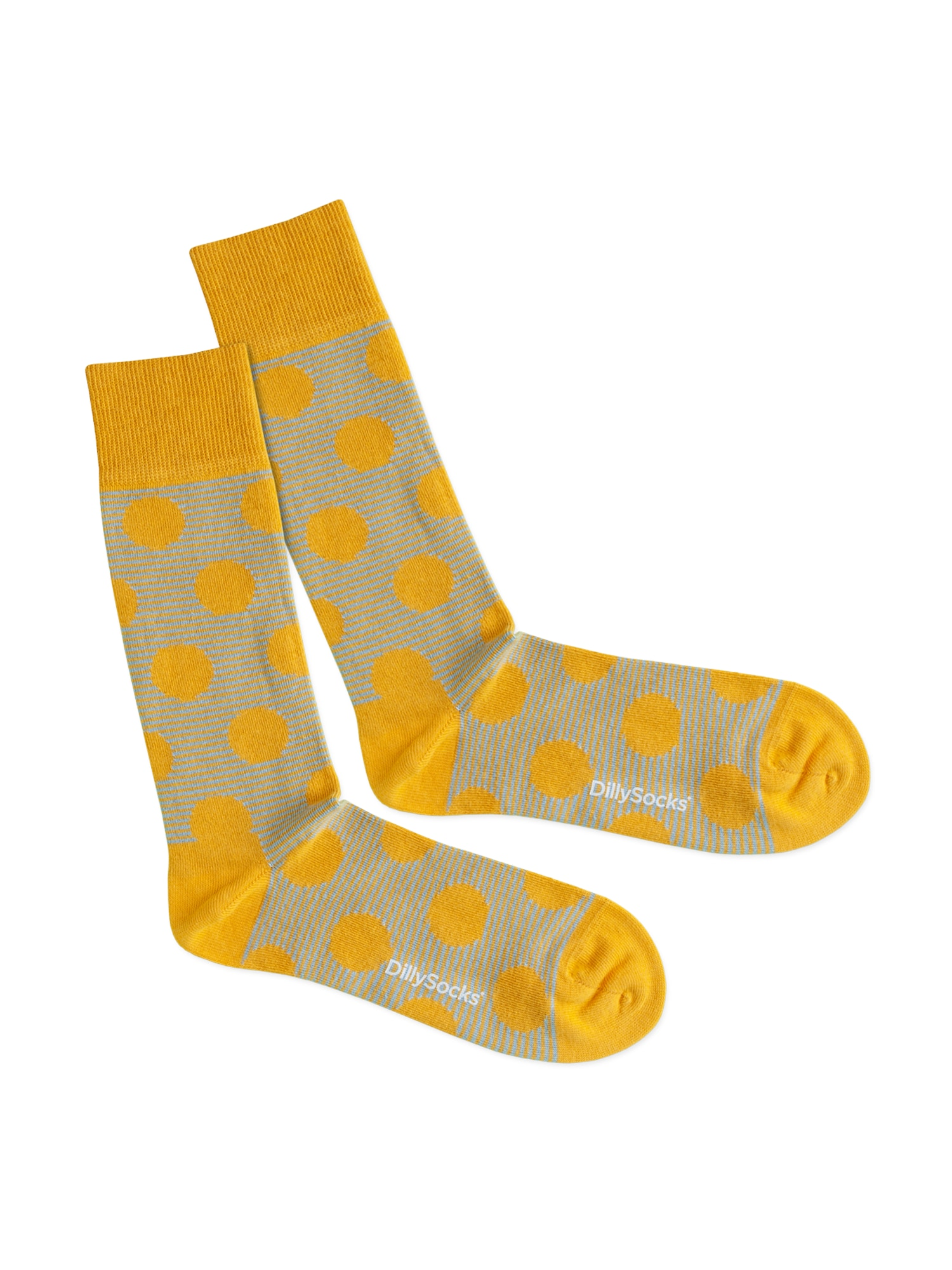 DillySocks Ťapky 'Sun Radiation'  žlté