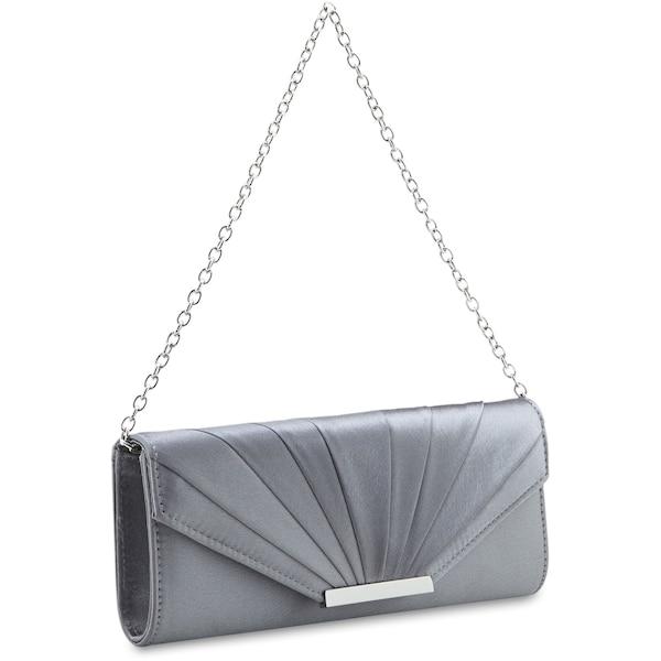 Clutches für Frauen - 'Scala' Abendtasche 23 cm › Picard › silber  - Onlineshop ABOUT YOU