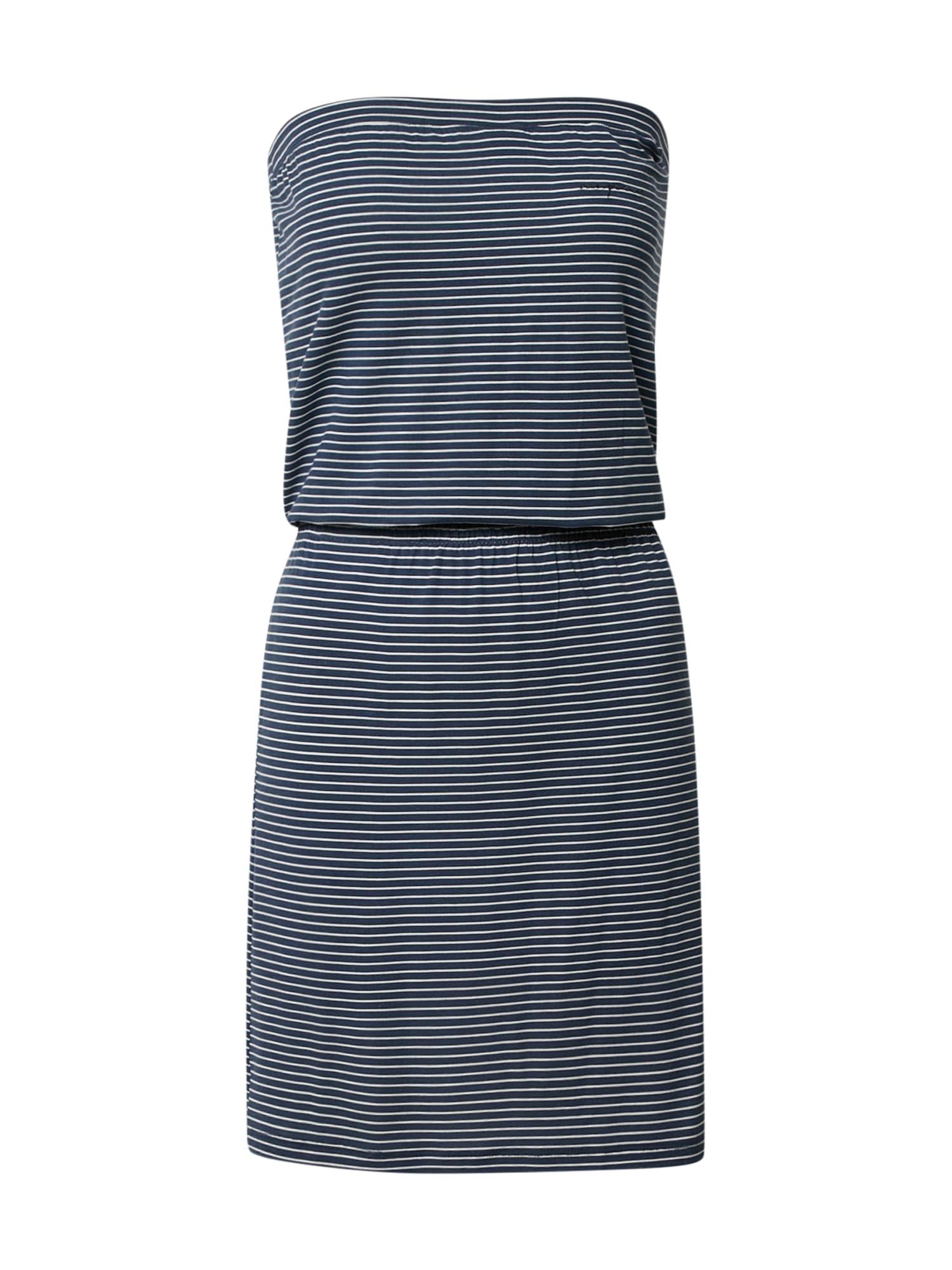 mazine Paplūdimio suknelė 'Roselle' balta / tamsiai mėlyna