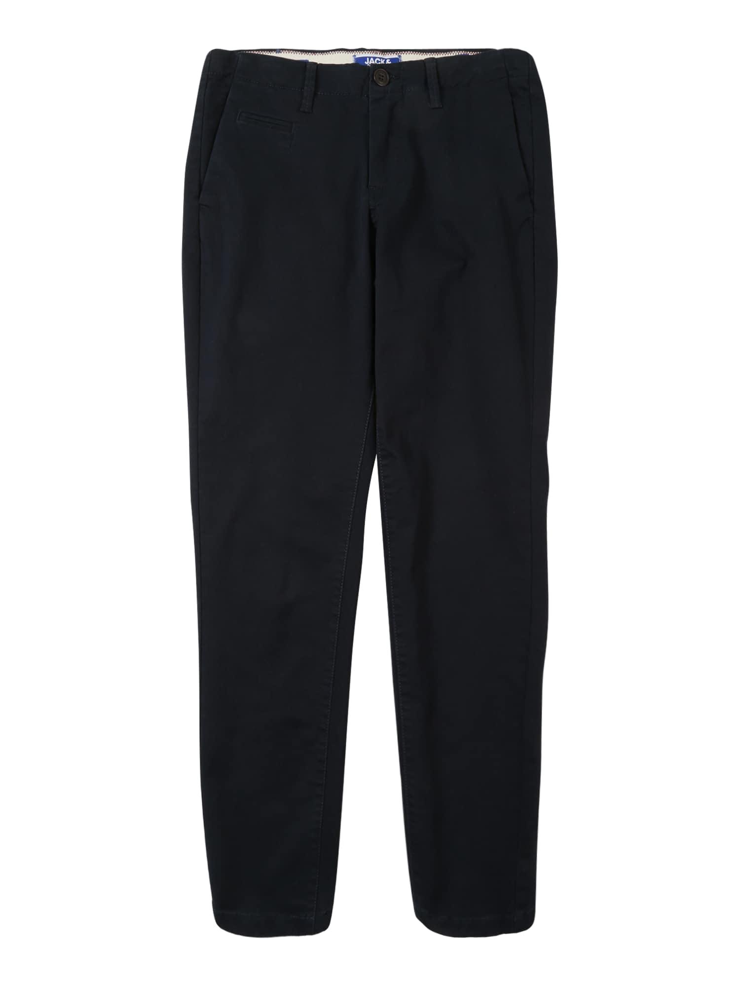 Kalhoty MARCO ENZO kobaltová modř Jack & Jones Junior