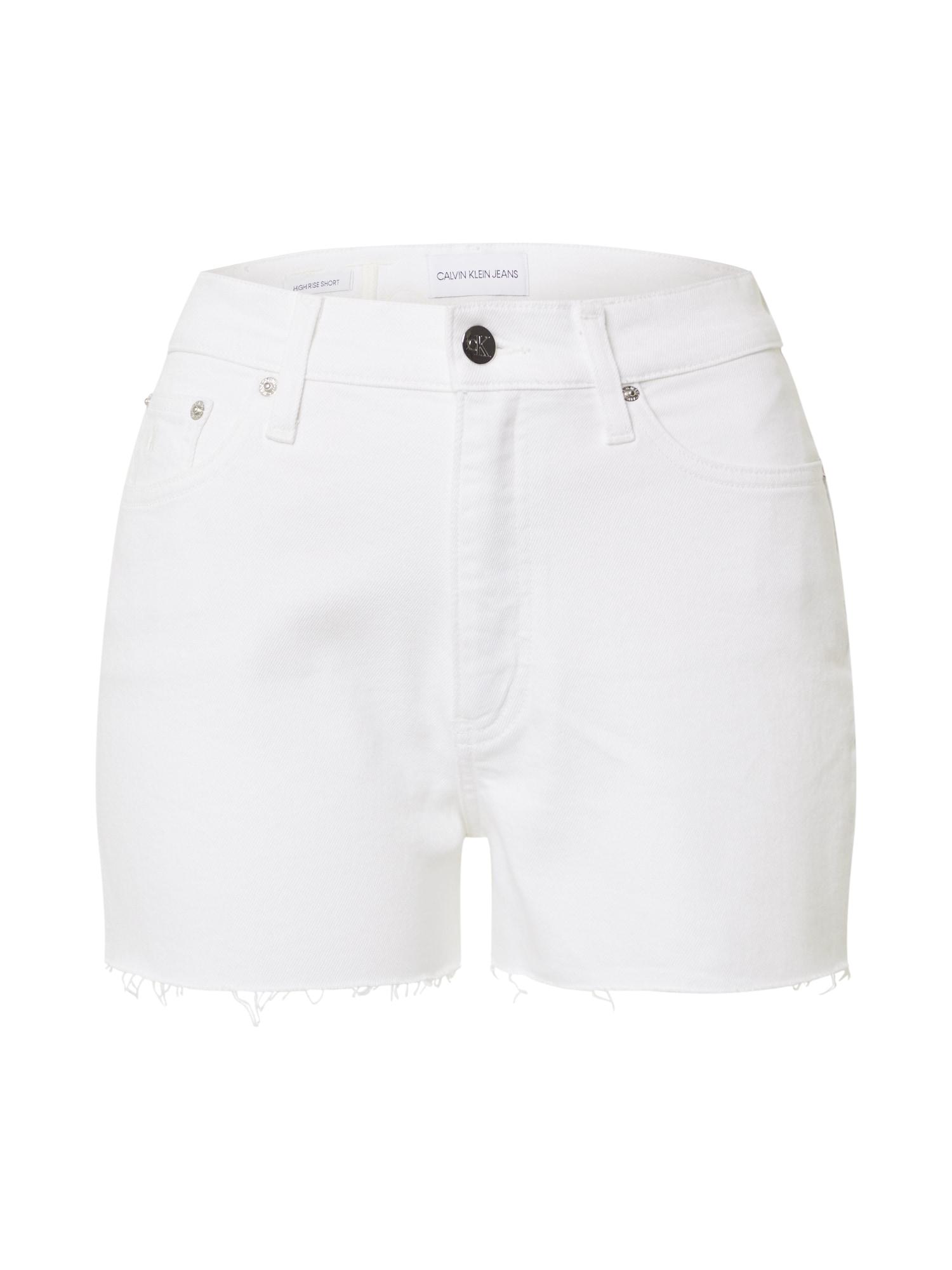 Calvin Klein Jeans Džinsai balta