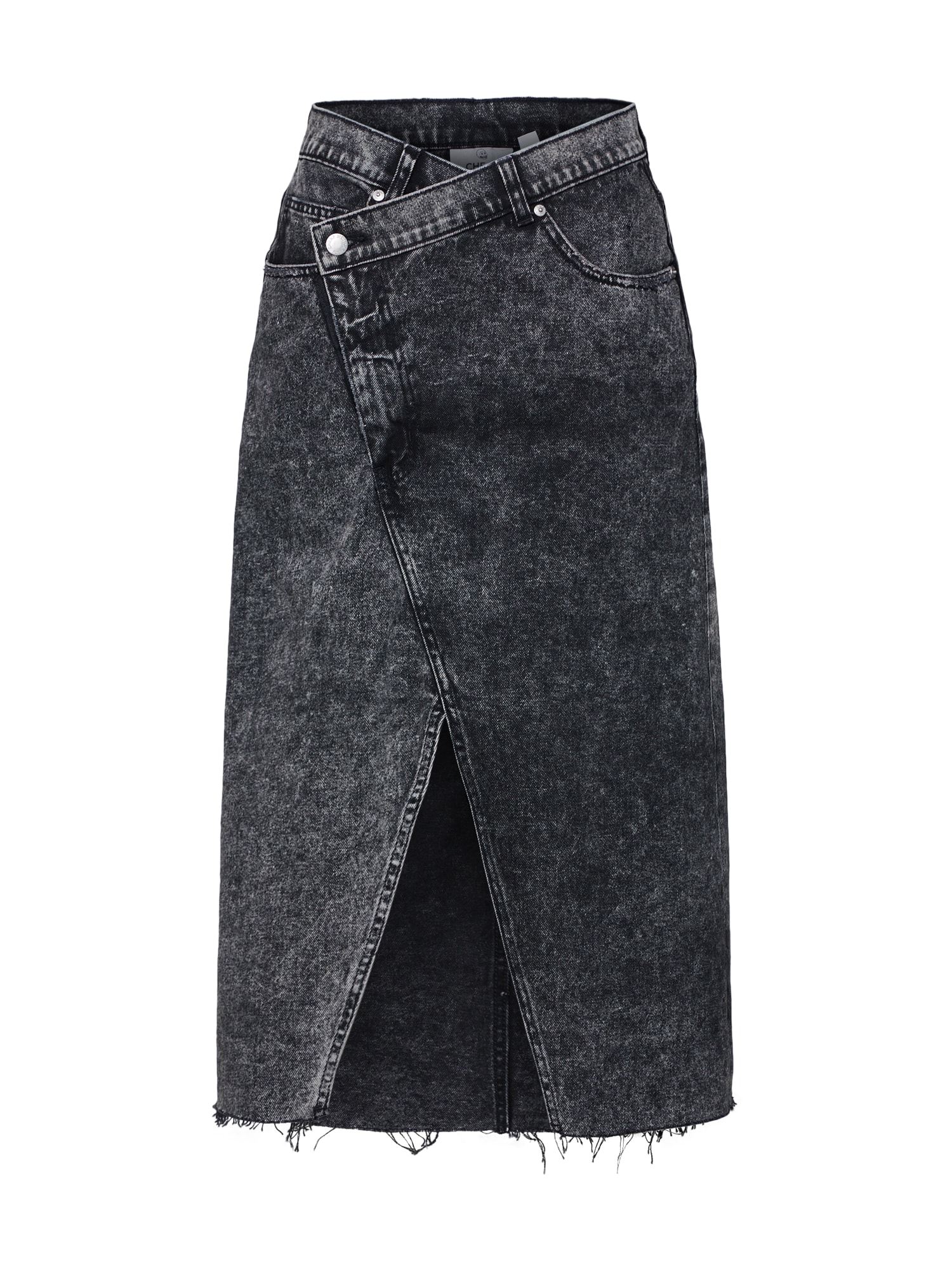 Sukně Tilt Skirt černá džínovina CHEAP MONDAY
