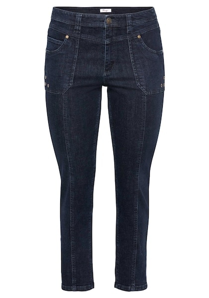 Hosen - Jeans › SHEEGO › dunkelblau  - Onlineshop ABOUT YOU
