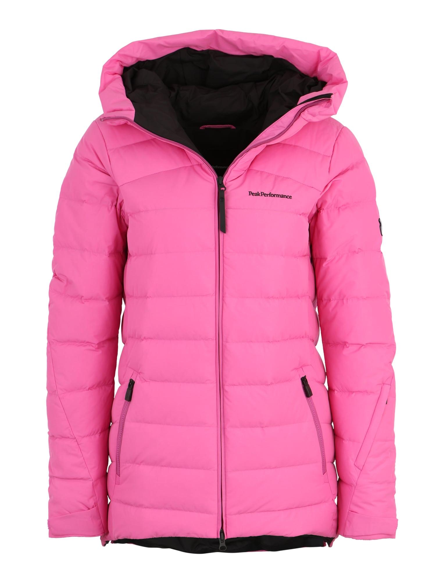 Sportovní bunda W SPOKAND J pink PEAK PERFORMANCE