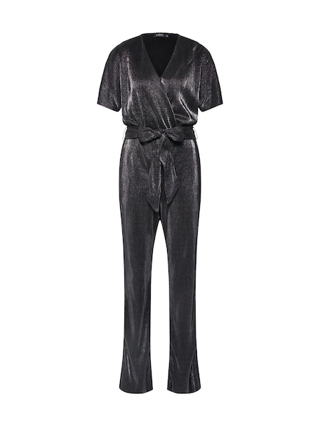 Hosen - Jumpsuit 'SLRylee' › SOAKED IN LUXURY › silbergrau dunkelgrau  - Onlineshop ABOUT YOU