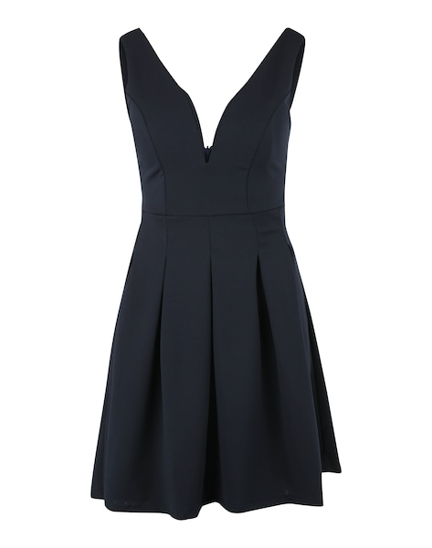 Festtagsmode - Cocktailkleid mit Kellerfalten › WAL G. › navy  - Onlineshop ABOUT YOU