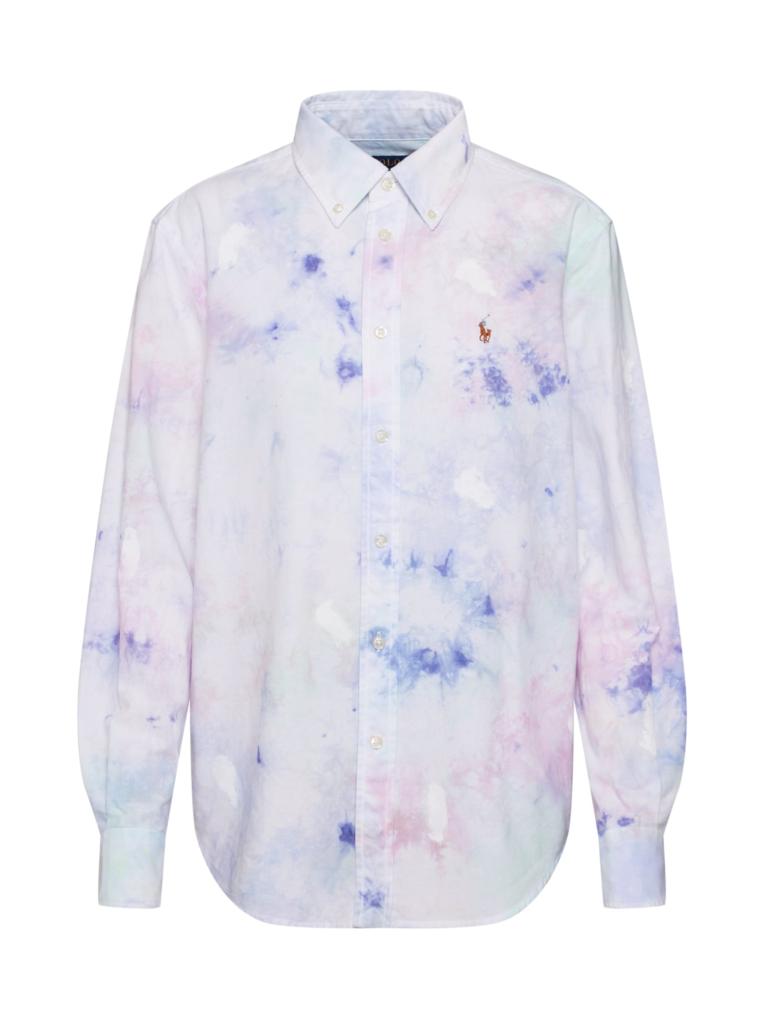 POLO RALPH LAUREN Blúzka  biela / fialová / ružová