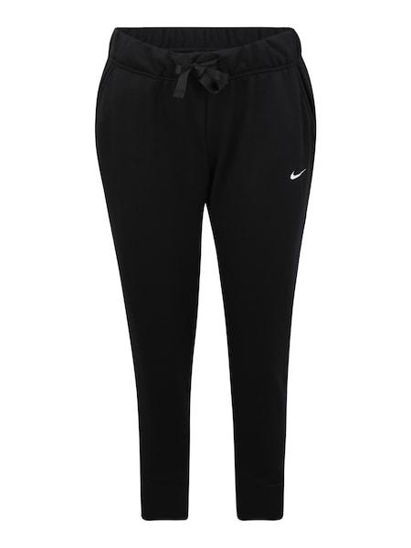 Hosen - Sport Hosen 'W NK DRY FLC GET FIT P T 7 8 X' › Nike › weiß schwarz  - Onlineshop ABOUT YOU