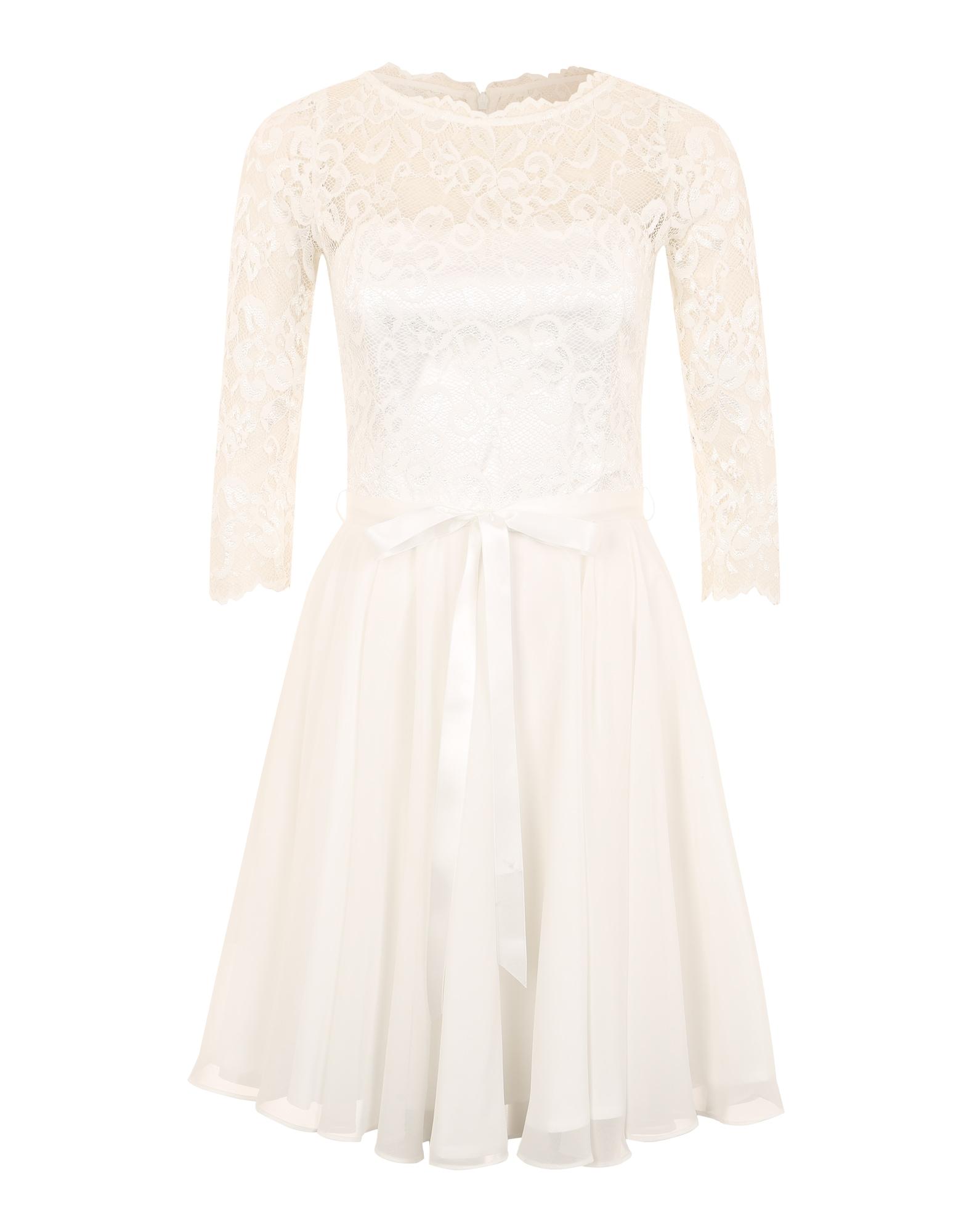SWING Kokteilinė suknelė balta
