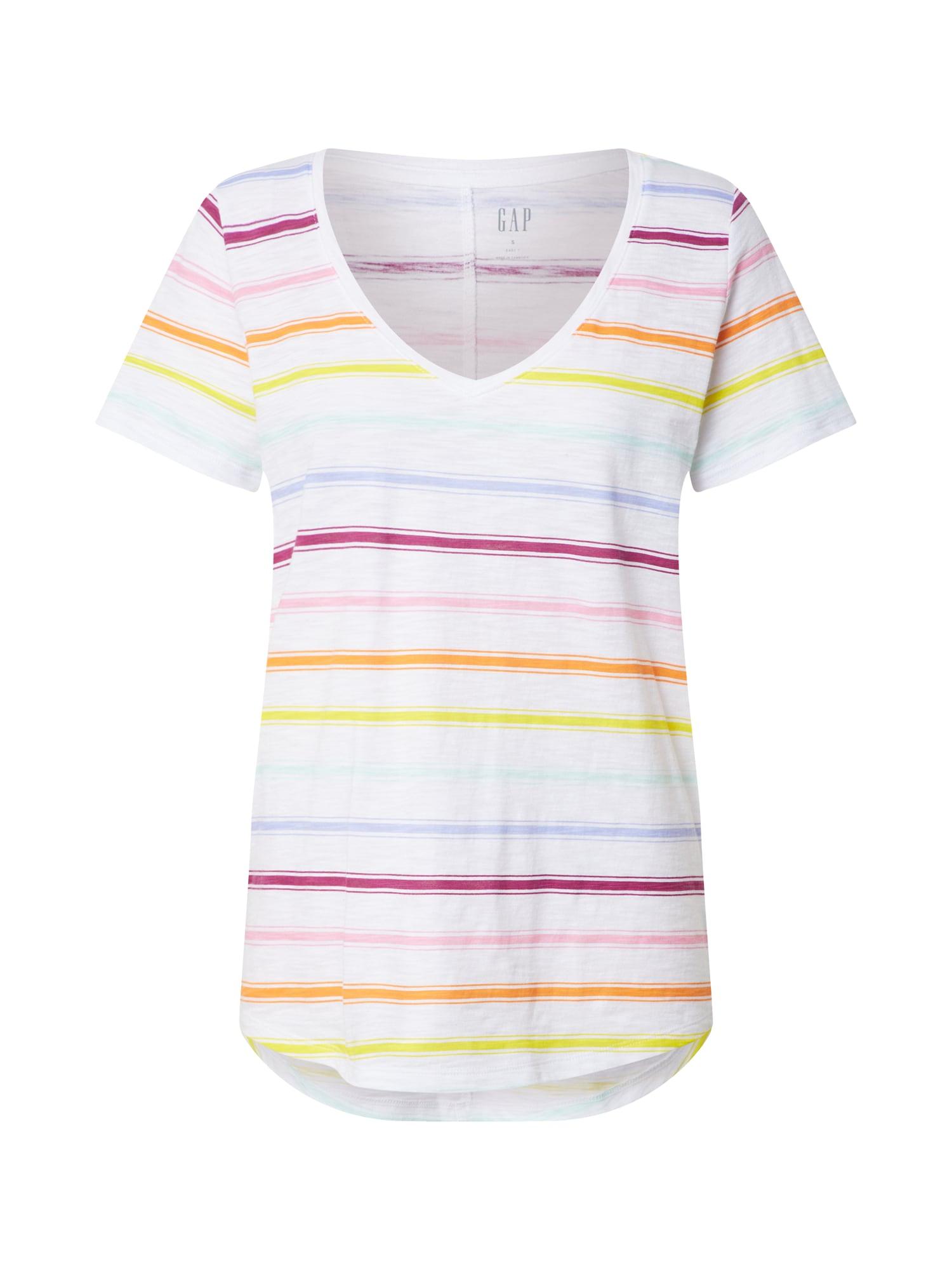 GAP Marškinėliai mišrios spalvos / balta