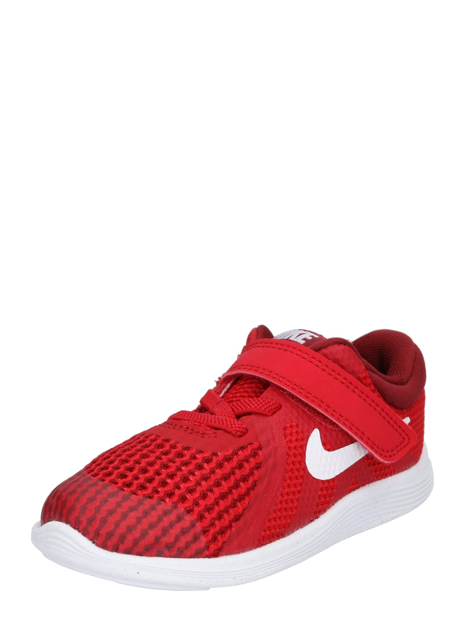 Tenisky Revolution 4 červená bílá Nike Sportswear