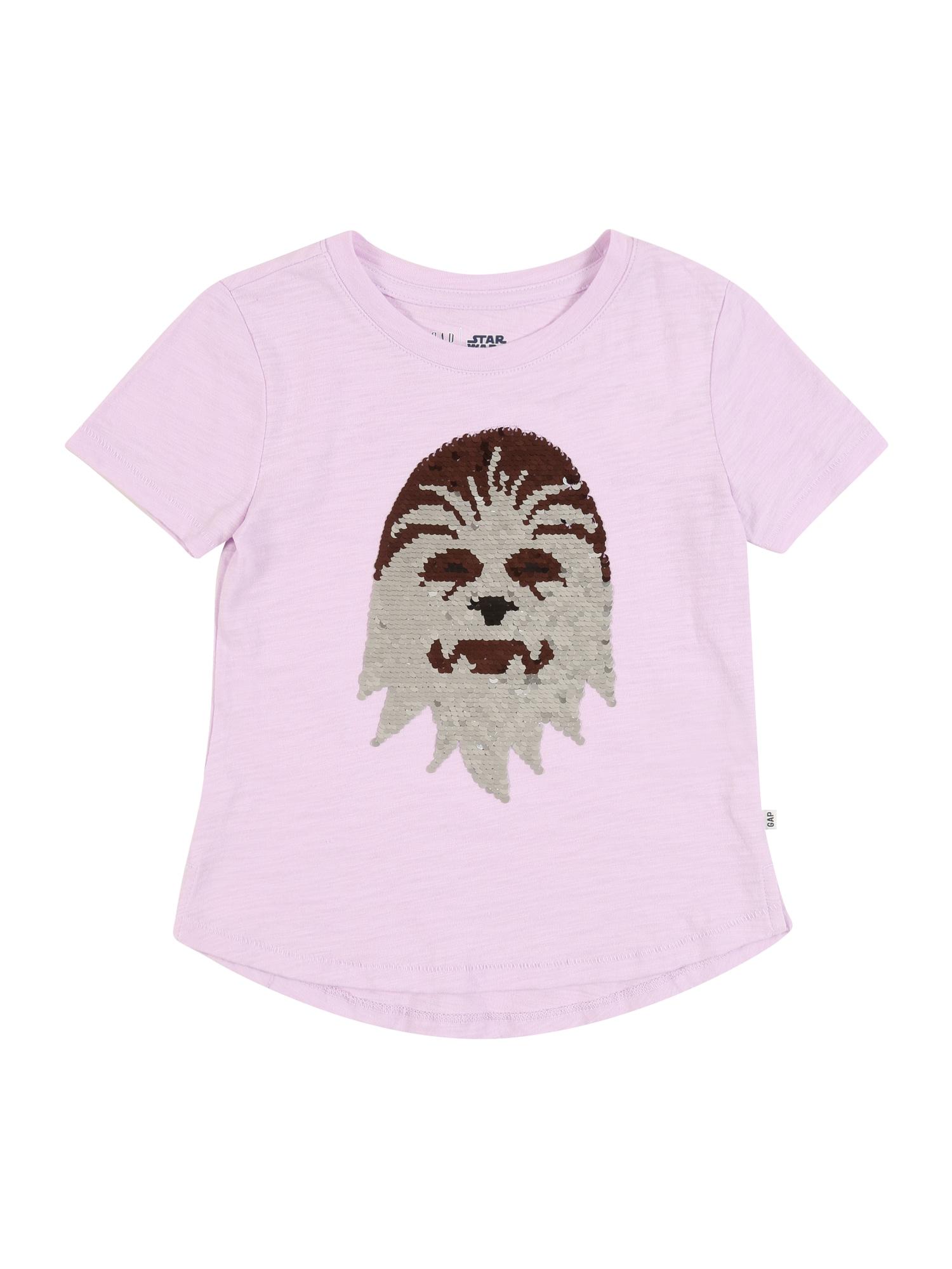 GAP Marškinėliai levandų spalva / mišrios spalvos