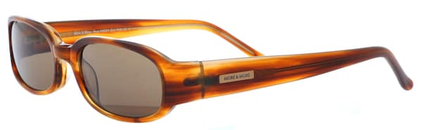 Sonnenbrillen für Frauen - MORE MORE Sonnenbrille 54021 700 in coolem Design braun  - Onlineshop ABOUT YOU
