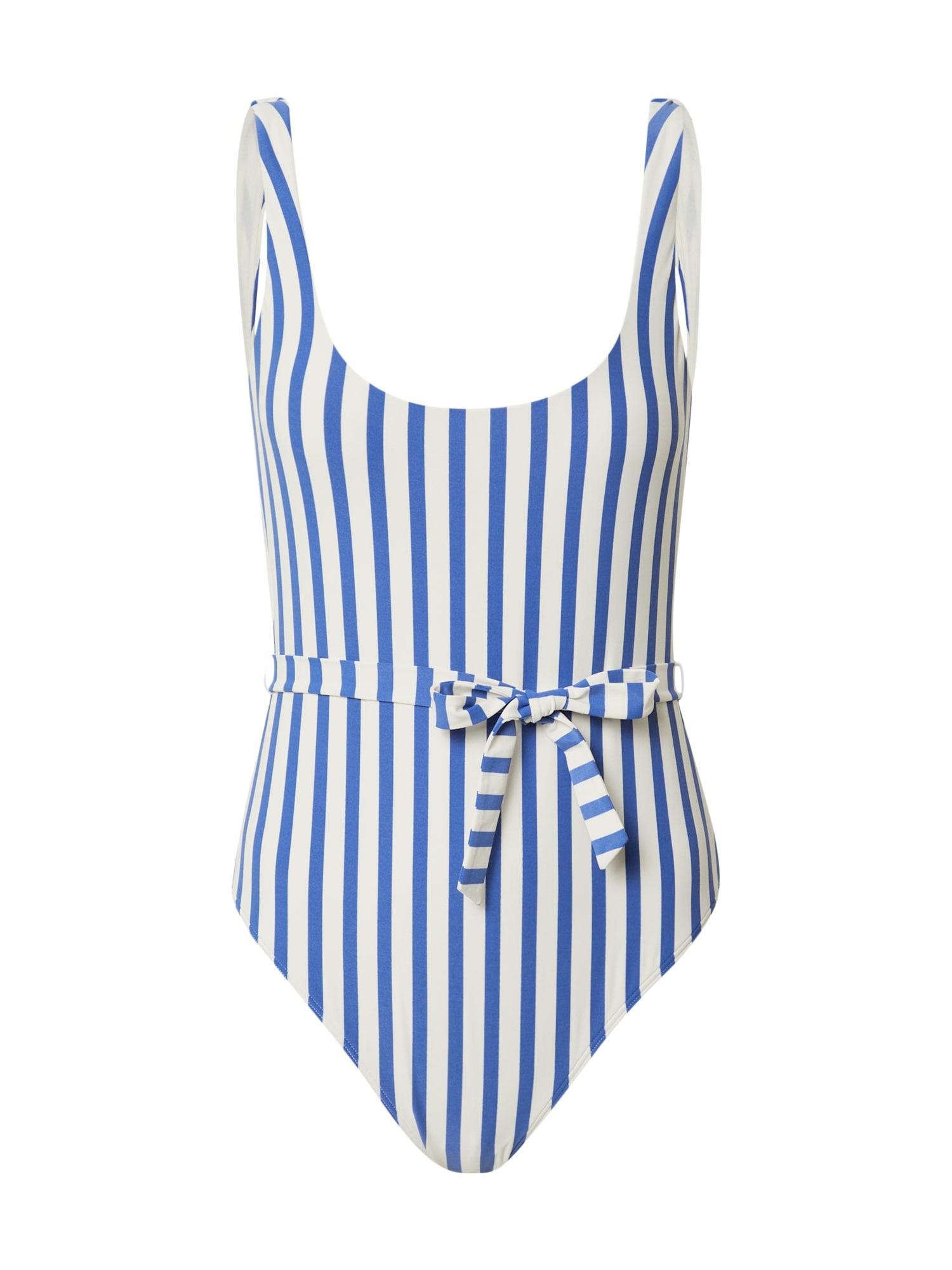 BILLABONG Maudymosi kostiumėlis balta / mėlyna