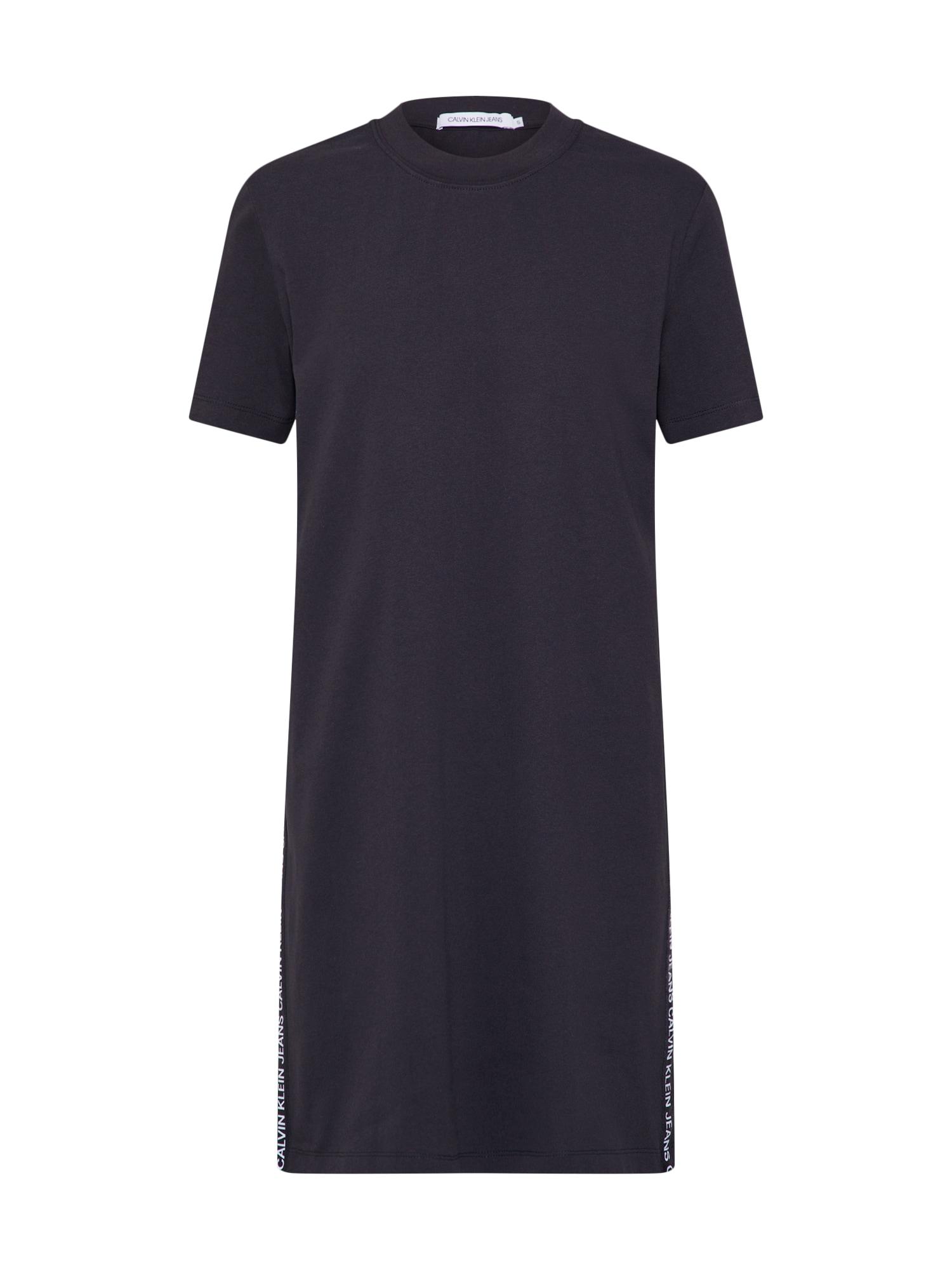 Letní šaty černá Calvin Klein Jeans
